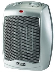 Lasko 754200 Ceramic Portable Space Heater with Adjustable Thermostat