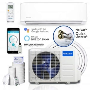 MRCOOL Comfort Made Simple DIY 12,000 BTU Ductless Mini Split Air Conditioner