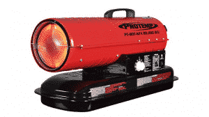 Pro-Temp 80,000 BTU Forced Air Torpedo Heater Review