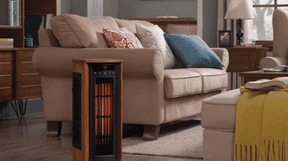 Duraflame 5HM8000-O142 Portable Electric Infrared Heater Review