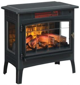 Duraflame Electric Infrared Quartz Fireplace Stove Review