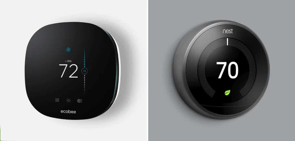 Ecobee Vs  Nest Smart Thermostat Review