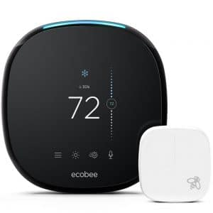 Ecobee4 Smart Thermostat included Room Sensor