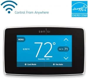 Emerson Sensi Touch Wi-Fi Enabled Smart Thermostat
