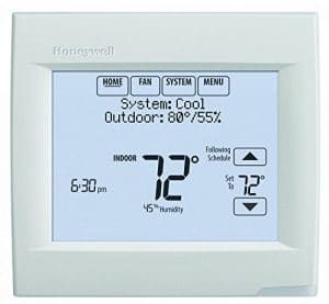 Honeywell TH8321WF1001 Pro 8000 Wi-Fi Enabled Touchscreen Thermostat