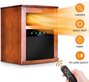 Trustech Electric Infrared Space Heater Review