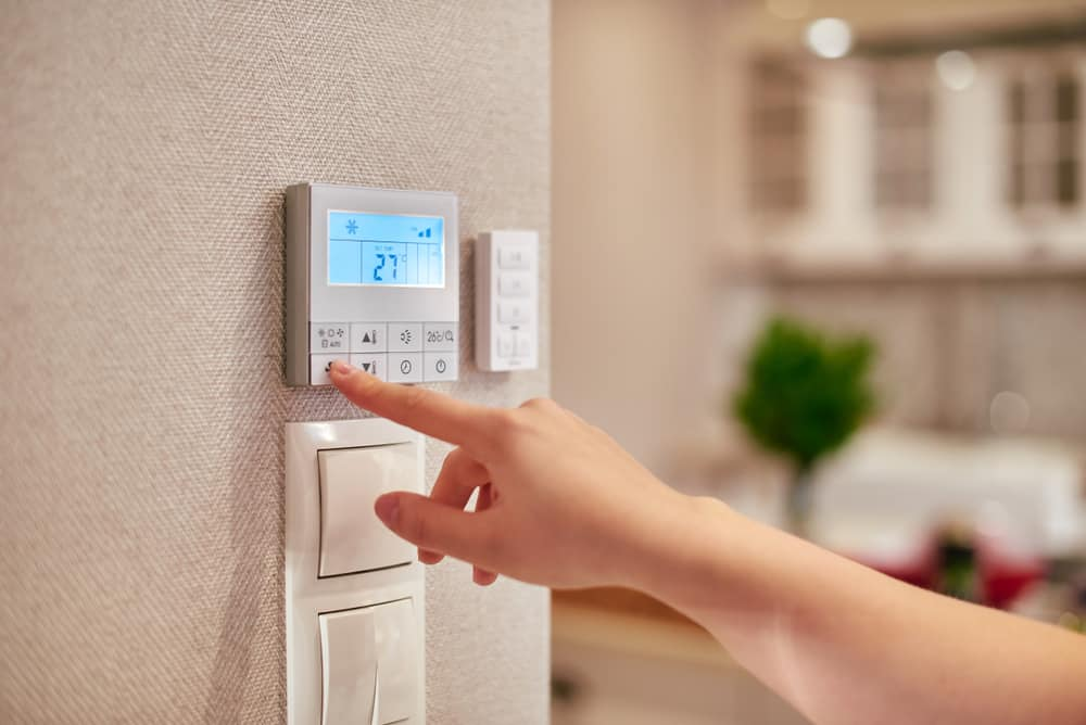 Modern smart thermostats