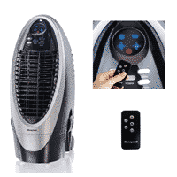 Honeywell 300-412CFM Portable Evaporative Cooler, Fan & Humidifier