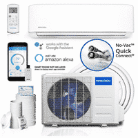 MRCOOL Comfort Made Simple DIY 12,000 BTU Ductless Mini Split Air Conditioner and Heat Pump System