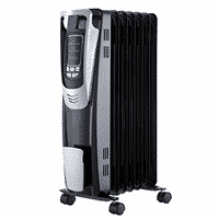 PELONIS Electric Portable Oil-Filled Radiator